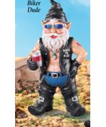 Biker  Dude Garden Gnome - $23.50