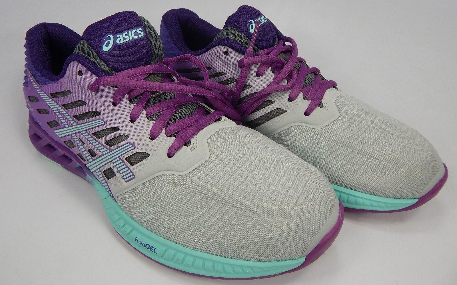 Asics Fuse X Size US 8 M (B) EU 39.5 Women's Running Shoes Gray Purple T689N