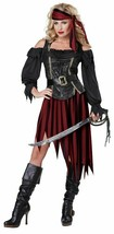 California Costumes Women's Queen Of The High Seas Sexy Pirate Swashbuck... - $23.36