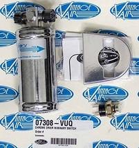 Vintage Air 07308-VUQ Chrome Drier with Binary Switch - $122.22