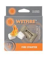 UST Wetfire Tinder 5-Pack All-Weather Fire Starter Survival 20-1WG0412-6BX5 - $9.19