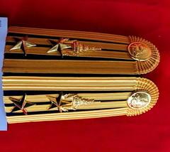 Lieutenant Colonel Royal Thai Army Rank Shoulder Boards Epaulette Rta Rank - $55.79