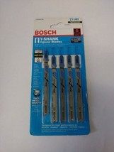 "Bosch T118B 3-5/8"" x 11-14 TPI HSS Metal T-Shank Jigsaw Blades 5 Pack - $4.95"
