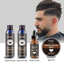 Beard Grooming Kit 100% Natural Beard Care Set for Mustache Growth Includes Unsc image 8