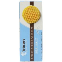 French Crispy Sea Salt Waffle Crackers - 3.3 oz box - $5.48