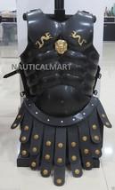 Greek Muscle Armor Cuirass W/ Roman Apron Belt Halloween Costume  - $169.00