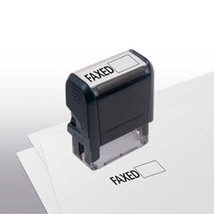 Faxed Stock Title Stamp - $12.50