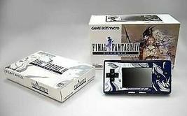 Nintendo Game Boy Advance Micro Final Fantasy IV Yoshitaka Amano Modelo ... - $899.13