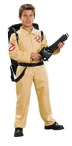 Ghostbuster Deluxe Child's Costume with Blow Up Proton Pack, Medium - $35.99