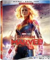 Captain Marvel [Blu-ray + Digital, 2019]