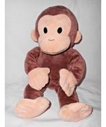 2013 Kohls Cares Curious George Monkey Plush Stuffed Animal Brown Tan - $12.85