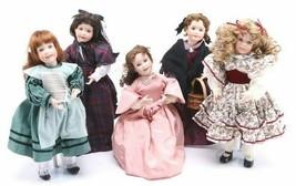 Ashton Drake Wendy Lawton Complete Set of Little Women Porcelain Dolls M... - $197.01