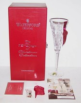 WATERFORD CRYSTAL 12 DAYS OF CHRISTMAS PARTRIDGE IN A PEAR TREE CHAMPAGN... - $59.19