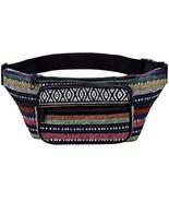 Kayhoma Boho Fanny Pack Stripe Festival Bum Bags Travel Hiking Hip Bum W... - £28.12 GBP