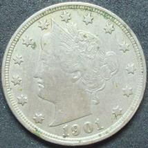 1901 5C Liberty Nickel    20130317 - $9.49