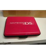 Nintendo DS case hard shell majenta color - $12.87