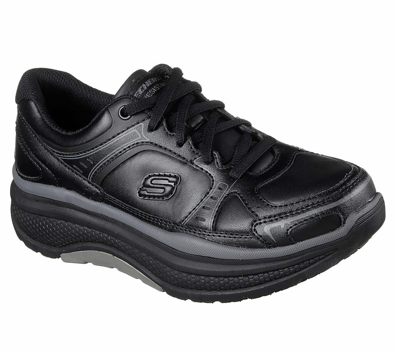 Skechers Work Black shoes Women Memory Foam Slip Resistant Rocker Comfort 77218 image 1