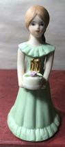 Growing Up Birthday Girls 11 Year  Old Blonde Vintage Enesco - $11.88