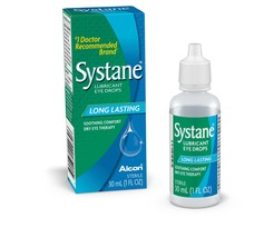 Systane Long Lasting Lubricant Eye Drops, 30-mL 30 ml (1 Count) - $18.63