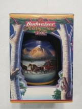 Budweiser Holiday Stein 2000 Holiday In the Mountains - $17.99