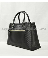 NWT Gucci Micro Guccissima Medium Top Handle Tote with Detachable Strap ... - $1,349.00