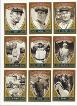 2013 PANINI COOPERSTOWN BASE #'s 1-110 ( HALL OF FAMER, HOF ) WHO DO YOU... - $0.99