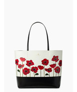 Kate spade Ooh La La Poppy Little Len Wkru5526 Leather Tote - $189.99