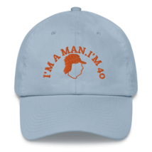 I'M A MAN! I'M 40! Hat / Mike Gundy Hat / Dad hat image 9