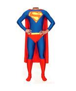 Superman Bodysuit Lycra Spandex Zentai Catsuit Cosplay Costume - $54.58