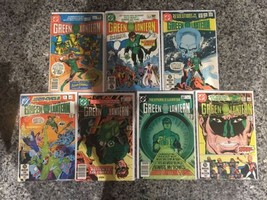 Lot 7 Green Lantern 1960-1988 1st Series DC #137 142 151 152 154 155 160 FN Fine - $34.65