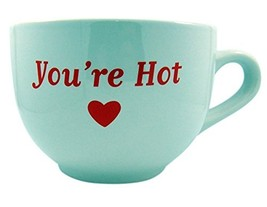 You're Hot Large Ceramic Coffee Soup Mug Gift, 18 oz - $19.24