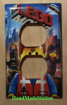 The Lego Movie Light Switch Outlet Duplex Wall Cover Plate Home decor image 2