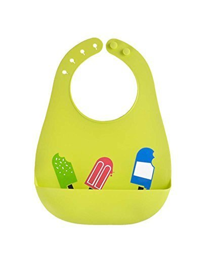 (Green) Lovely Water-Repellent Comfortable Baby Bib/Pinafore for Baby