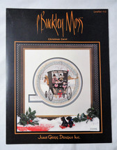 P Buckley Moss Christmas Carol Cross Stitch Pattern Leaflet 113 - $12.95