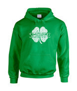 261 Slainte Hoodie Ireland St. Patricks Day drunk beer party drink irish - £21.34 GBP+