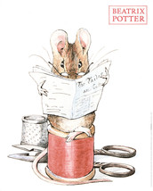 Beatrix Potter-The Tailor of Gloucester-Poster - £32.29 GBP