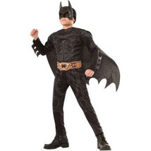 DC Batman The Dark Knight Child Muscle Costume Rubies Boys L 10 - 12 NEW! - $28.60