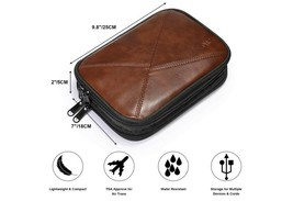 S-ZONE Electronic Organizer Accessories Cable Storage Travel Case For Ca... - $10.88