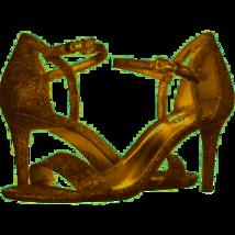 MICHAEL Michael Kors Simone Dress Sandals Silver/Sand Size 6 - $84.14