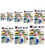 Nail Art VI Perforated 70/30 See Though Window Poster Sign Vinyl Salon V... - $23.96+