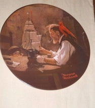 THE SHIP BUILDER BY NORMAN ROCKWELL LIMITED EDITION 242951 1854 KNOWLES ... - $2.23