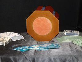 Porker Chips Holder and Card Game AA19-1666 Vintage image 6
