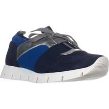 Nine West Welldone Fashion Sneakers, Navy Multi - $27.99