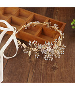 Hair band with gold hair accessories - $20.55