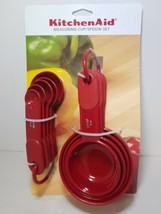 KITCHENAID EMPIRE RED 9 PC MEASURING CUPS AND SPOONS SET - $12.99
