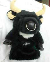 Black Sergio Garcia Bull Plush Golf Club Head Cover buy Winning Edge - $39.50