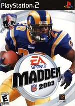 Refurbished Madden NFL 2003 For PlayStation 2 PS2 Football - $6.89