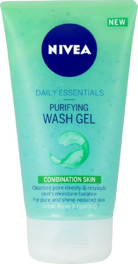 Nivea Purifying Wash Gel 150 ml Facial Cleanser for Combined Skin+ - $11.90