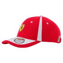 Puma Ferrari Men's Sebastian Vettel Adjustable Trucker Racing Cap Hat 02153701