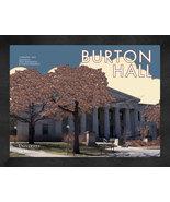 "University of Minnesota ""Burton Hall"" 13 x 16 Art Deco Framed Print  - $39.95"